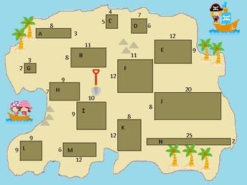 Where's the Treasure? - Perimeter and Area