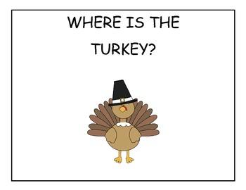 Where's the Turkey Interactive Book