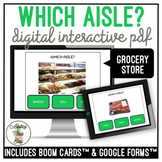 Which Aisle? Grocery Store Digital Activity