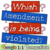 Bill of Rights Scenario Activity | Which Bill of Rights Amendment was violated?