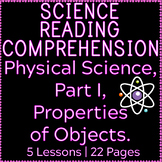 Physical Science Reading Comprehension Passages | Properti