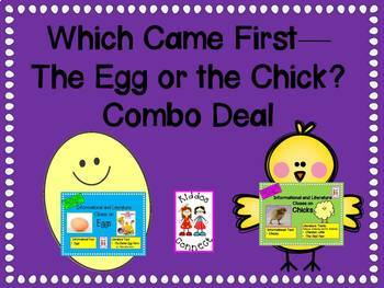 Closes on Eggs and Chicks--Which Came First--The Egg or The Chick? Combo Deal