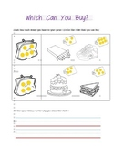 Which Can I Buy? Social Studies (Integrate with Math More