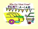 Which Car Rental Company Do I Use? The Algebra Lab Manual