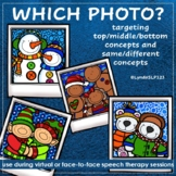 Which Christmas Photo - Targeting top middle bottom + same