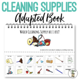 Cleaning Supplies Adapted Book