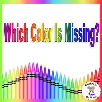 Colors- Which Color is Missing?