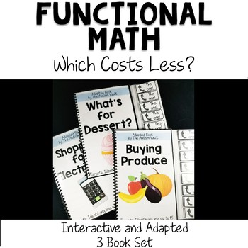 Which Costs Less? Comparing Money Interactive Books for Special Education