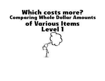 Which Costs More? Level 1