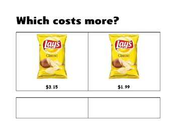 Which Costs More? * Level 2