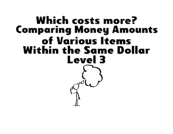Which Costs More? * Level 3