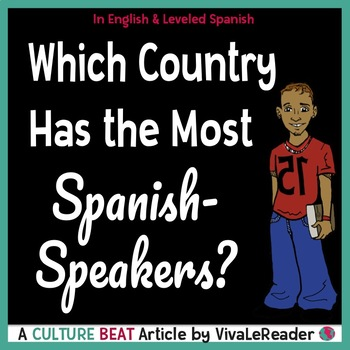 Which Country Has the Most Spanish Speakers? In English & Leveled Spanish