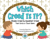 Which Creed Is It?  Task Cards or SCOOT Game