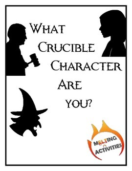 Crucible Characters Worksheets & Teaching Resources | TpT