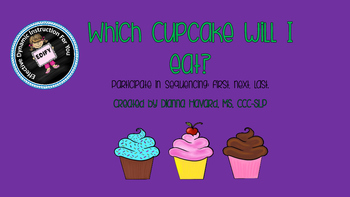 Which Cupcake Will I Eat? A First, Next, Last Sequencing Activity