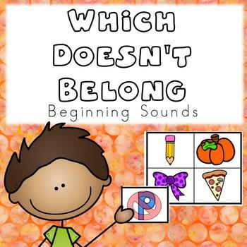 Which Doesn't Belong- Beginning Sounds