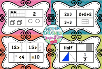 Which Doesn't Belong - Numbers, Fractions, Money. Math Talks & Math Centres!