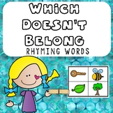 Rhyming Words- Which Doesn't Belong
