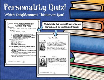 Enlightenment Thinker Personality Quiz: Which Enlightenment Thinker Are You?