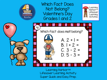Which Fact Does Not Belong Valentine FREE