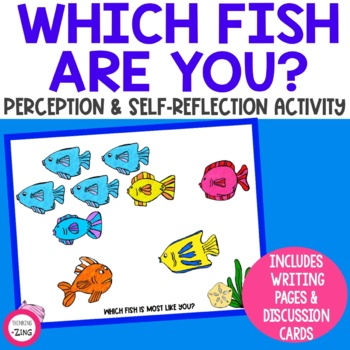 Which Fish are You? Counseling Self-Reflection Activity