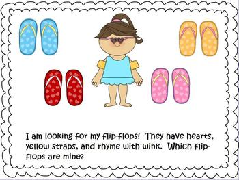 Which Flip-Flops are Mine? - Attribute Activity for Promethean Board