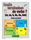 Which French Verb Ending (er, ez, é, és, ée, ées)?