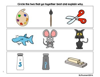 Which Go Together?  Semantic Relationships