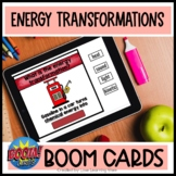 Potential and Kinetic Boom Cards | Energy Transformations