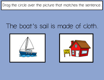 Which Homonym fits the Sentence?  for Google Drive  Interactive Lesson