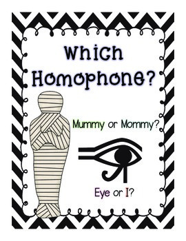 Which Homophone?