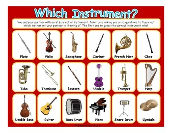 Which Instrument? Music Game