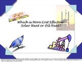 Which Is More Cost Effective? Solar Heat or Oil Heat. The Math in Action Series.