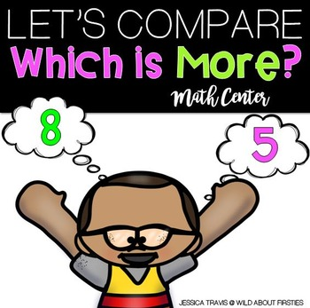 Which Is More? (a FREE center for comparing numbers to 30)