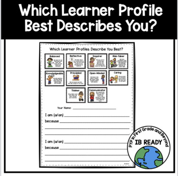 Which Learner Profiles Describe You? A Self-Reflection Tool