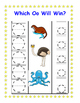 Upper/Lowercase Letter Identification Game / Center: Which Letter Will Win?