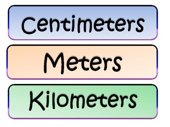 Which Metric Unit?
