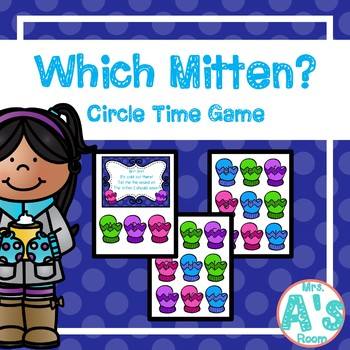 Which Mitten? Circle Time Game