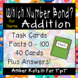 Which Number Bond? Addition Task Cards (Common Core Aligned)