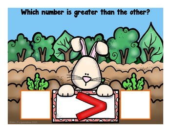 Which Number Is Greater? {Freebie}
