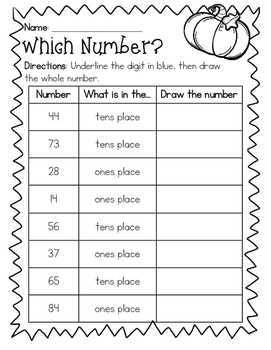 Which Number? Place Value Practice