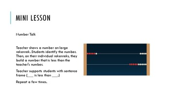 Which Number is Less than? - K Lesson Plan