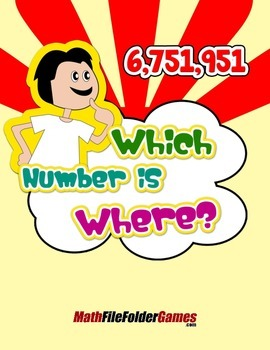 Which Number is Where? {Place Value Game}