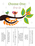 Preview: Which One Do You Choose? Language Activity for Spring (No Prep)