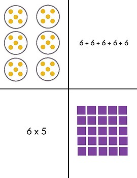 Which One Does Not Belong Multiplication Activity