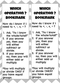 Which Operation and UPS√ Bookmarks