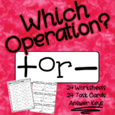 Which Operation Addition or Subtraction?