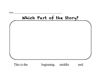 Which Part of the Story?