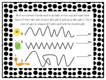 Which Path? A Measurement Activity (2.MD.1)