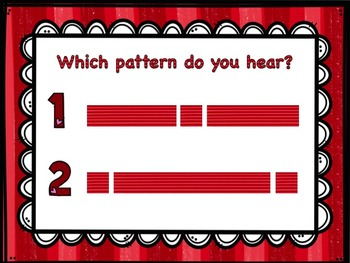 Which Pattern Do You Hear? A Listening Game to Practice Long and Short Sounds